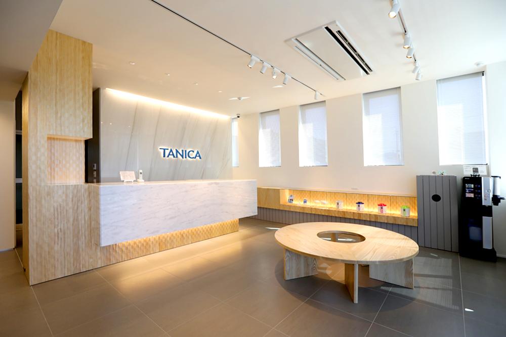 タニカ電器様エントランス
