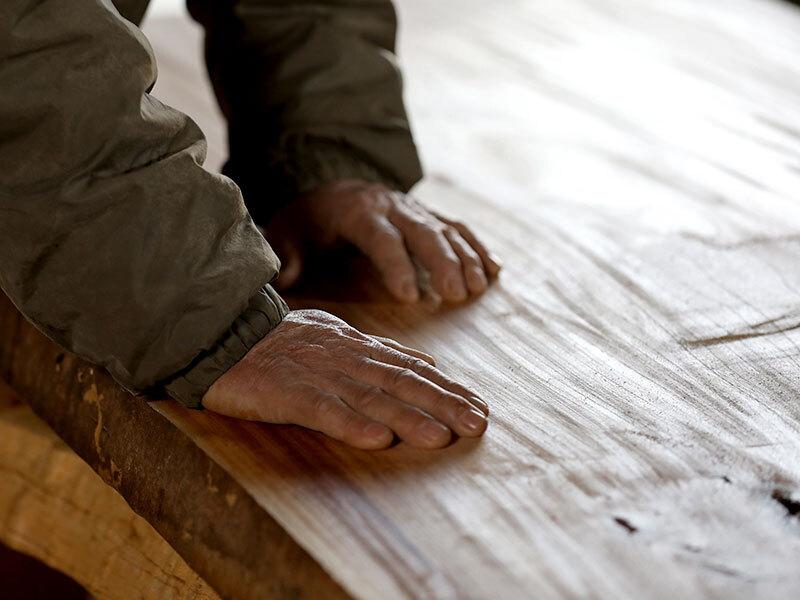 家具工場ならではの作りこみ