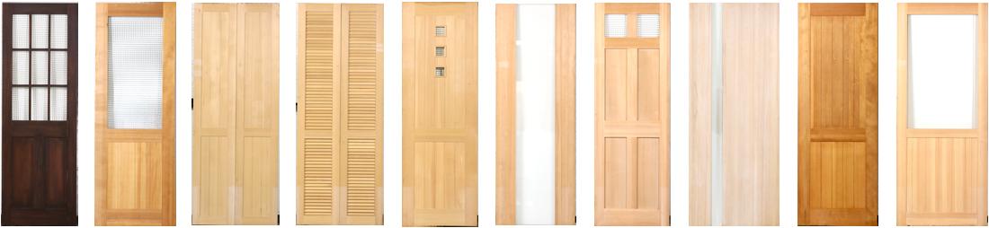 無垢ドア全種類