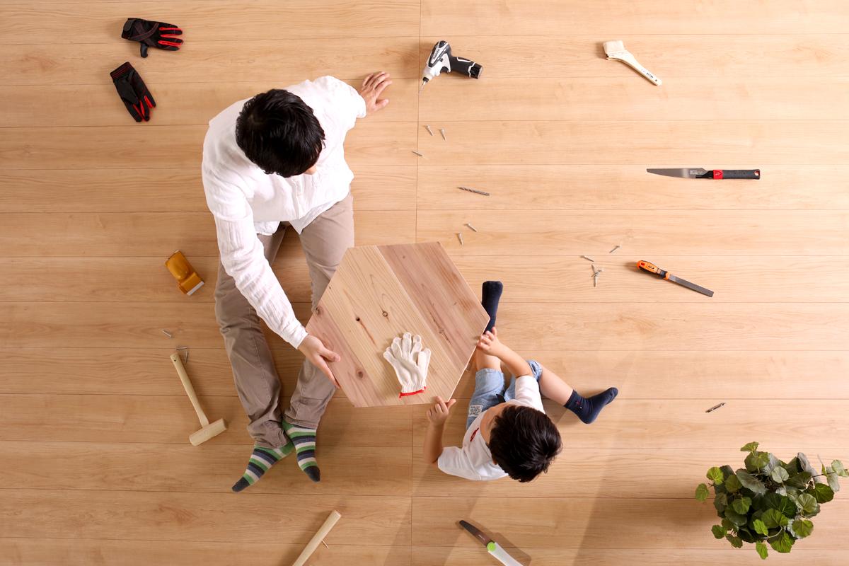 家具を一緒に作ろう